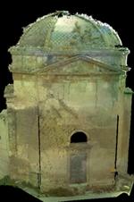 Rilievo tridimensionale con laser scanner 3D della ex chiesa di San Michele - CAMPOBELLO DI MAZARA (TP) - Nuvola di Punti